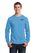 Port & Company® - Long Sleeve-2 COLOR Left Chest