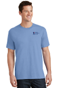 Port & Company®-Core Cotton Tee-2COLOR Left Chest
