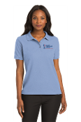 Maine Veterans'-Port Authority® Ladies Silk Touch™ Polo